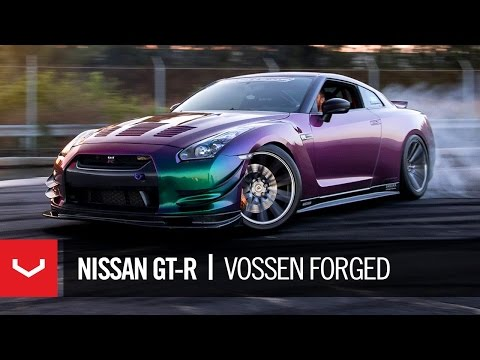 This Bearded Man Has an RWD Nissan GT-R with Color FlipPaint