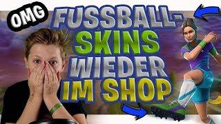 Fußball Skins wieder im Shop!😍 Guten Abend Stream! Doppel EP Wochenende! Fortnite Battle Royale!