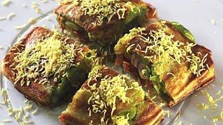 Mumbai Masala Toast Sandwich | Popular Mumbai Street Food | Kanak