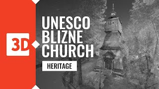 Blizne – All Saints Church – Laser scanning of UNESCO monuments