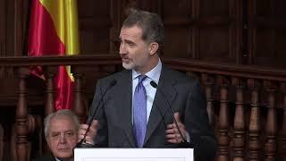 S.M. el Rey preside el acto de entrega del Premio de Derechos Humanos Rey de España