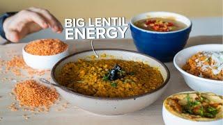 Pantry Recipes: Lentils, 4 Ways.