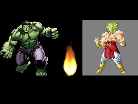 Hulk Vs Broly Who Would Win? | Dream Fights!