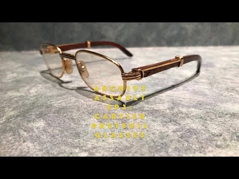 Archive Assault Ep2: Vintage Cartier Sunglasses Review ($3,000 Frames)