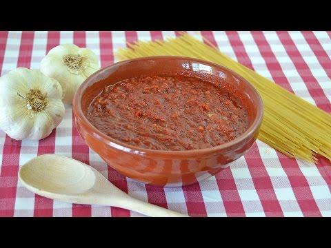 Salsa de Tomate Estilo Italiano | Salsa Casera Para Pizzas y Pasta