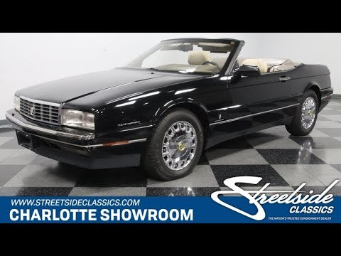 1993 Cadillac Allante (CC-1299490) for sale in Concord, North Carolina