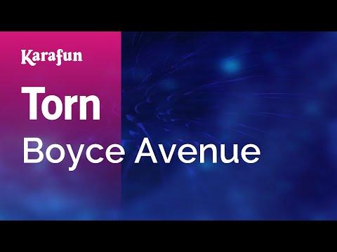 Torn - Boyce Avenue | Karaoke Version | KaraFun