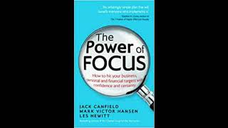Power of Focus by Jack Canfield - Audio Summary