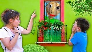 Света и Богдан НАШЛИ ДОМ БАЛДИ в реальной жизни! Учитель Baldi VS Дети