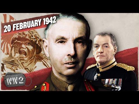 Největší britská porážka ‒ Singapur padl!