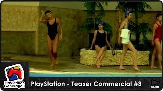 PlayStation (プレイステーション) - Teaser Commercial #3 - Japan (1994) HQ