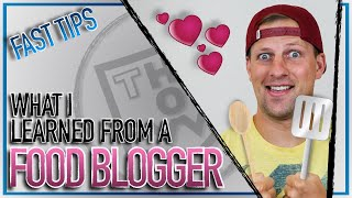 Before starting a blog, you MUST WATCH THIS! (Food Blogger's #1 ADVICE)