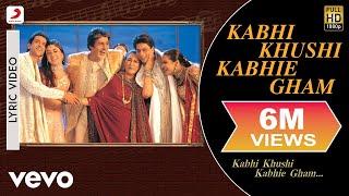 Kabhi Khushi Kabhie Gham Lyric Video - Title   - YouTube