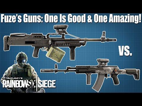 Fuze's AK-12 vs. 6P41: Loadout META - Rainbow Six Siege