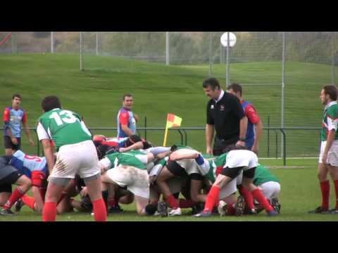 Rugby UPNA. Iruña vs Ribago