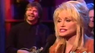 Dolly Parton Silver Dagger on Regis  Kathy Lee