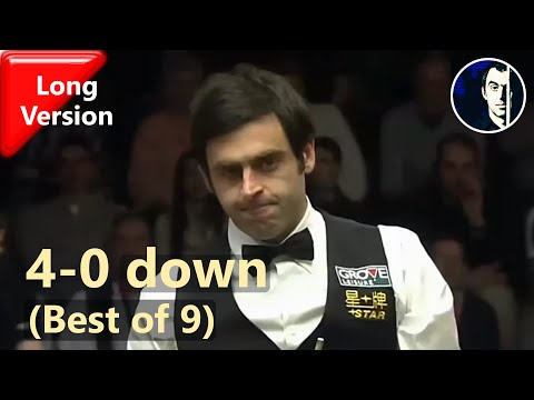 Ronnie O'Sullivan Comes Back from the Brink of a Whitewash (long version) | 2012 German Masters