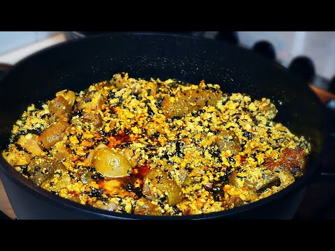 How to make Nigerian Egusi soup | Party Style Egusi Soup from start to finish.