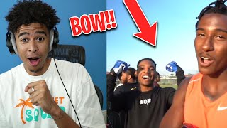 That Boy Nice! Reacting to 7ON7 AGAINST TYREEK HILL! FT. NFL Players  & B-Lou