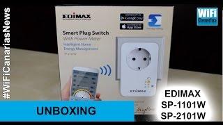 WiFi Canarias News -- Edimax SP-1101W & SP-2101W
