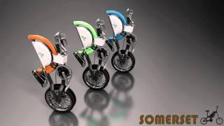 最新式折り畳み自転車電動タイプもあり