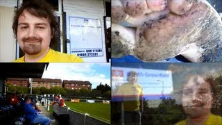 preview picture of video 'Around the Leagues in Bare Feet - Part 6: Southall vs Haringey Borough 7th Sept 2013'