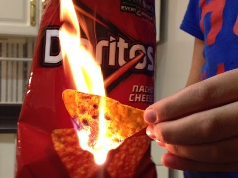 , title : 'How to build a fire using Doritos'