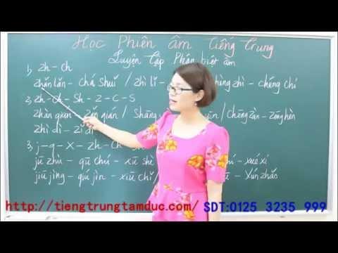 Học phát âm tiếng Trung cơ bản từ đầu 4