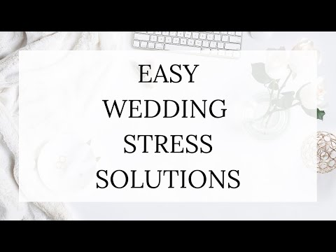 , title : 'Wedding Stress Solutions