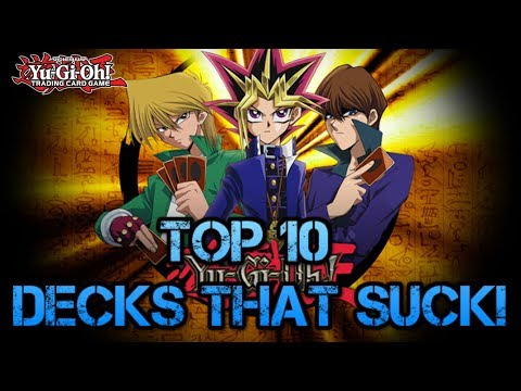 Top 10 Over-Hyped Yu-Gi-Oh! Decks That Suck!