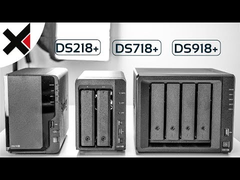 Synology DiskStation DS218+ DS718+ DS918+ Kaufempfehlung 2017/2018 | iDomiX
