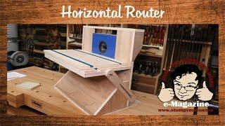 Build A Homemade Horizontal Router Machine  (Part 1 Of 2)