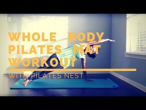 Pilates Full Body Mat Workout