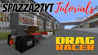 Minecraft Drag Racing Vehicle (Drag Racer) Tutorial
