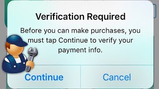 How to Fix Verification Required issue when installing Free Apps from the App Store on iPhone /iPad