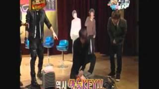 Sexy Shinee Key vs U-Kiss Dongho _ FT Island SeungHyun ( eng sub )