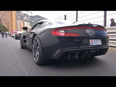 Aston Martin ONE-77 Revs & Accelerating!