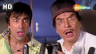 Famous Dhamaal Aeroplane Comedy Scene [2007] Vijay Raaz - Asrani - Aashish Chaudhary - Best Scene