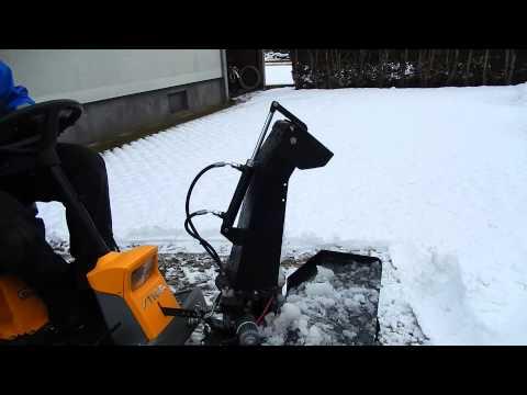 Stiga Park Pro, Snow Blower