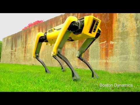 Boston Dynamics - New SpotMini Robot [1080p]