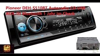 Pioneer DEH-S510BT Autoradio CD USB AUX-IN Bluetooth 1 Jahr im Check