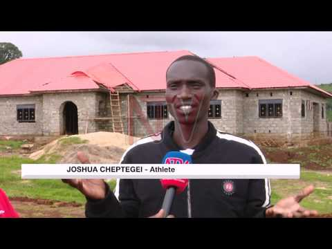 Poor state of road to Kiprotich centre irks athletes