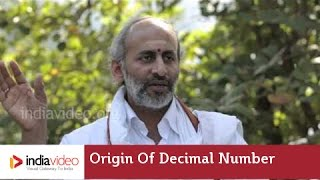 Origin of the Decimal Number System in India