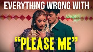 "Everything Wrong With Cardi B & Bruno Mars - ""Please Me"""