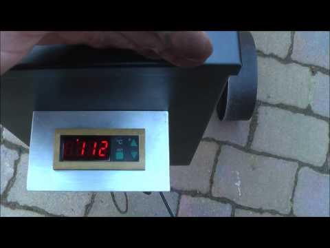 Tuning Pelletsmoker Pelletgrill Holzpelletgrill BBQ mit stufenloser elektrischer Temperaturregelung
