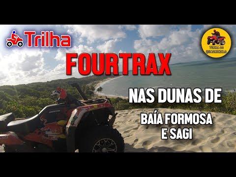 FOURTRAX dando show nas Dunas de Baía Formosa e Sagi-RN
