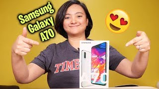 Samsung Galaxy A70 Unboxing - NA IN-LOVE AKO DITO