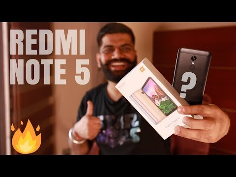 Xiaomi Redmi Note 5 Unboxing and Giveaway