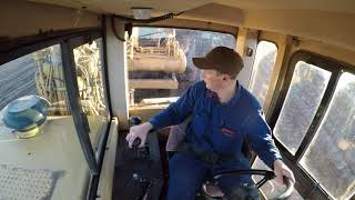 Back in the Saddle on a 623F CAT Elevating Scraper after 25yrs!!!