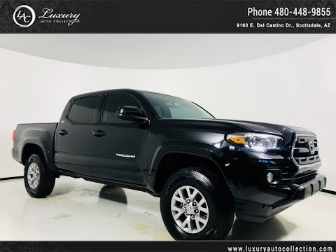 Pre-Owned 2016 Toyota Tacoma 4WD Double Cab V6 SR5